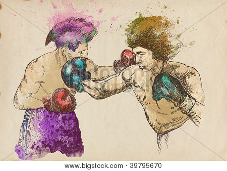Boxing match - warriors