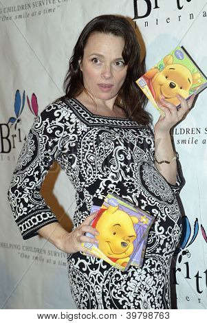 UNIVERSAL CITY - DEC. 4: Amy Arena arrives at publicist Mike Arnoldi's birthday celebration & Britticares Toy Drive for Children's Hospital on Dec. 4, 2012 in Universal City, CA.