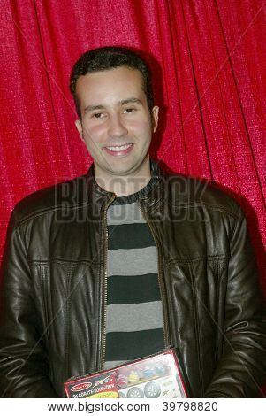 UNIVERSAL CITY - DEC. 4: Paul Tirado arrives at publicist Mike Arnoldi's birthday celebration & Britticares Toy Drive for Children's Hospital at Infusion Lounge on  Dec. 4, 2012 in Universal City, CA.
