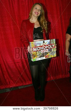 UNIVERSAL CITY - DEC. 4: Haley Read arrives at publicist Mike Arnoldi's birthday celebration & Britticares Toy Drive for Children's Hospital at Infusion Lounge on  Dec. 4, 2012 in Universal City, CA.