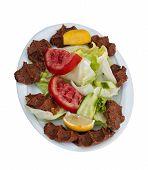 Постер, плакат: Cigkofte: Традиционные турецкие сырое мясо