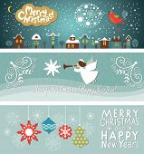 stock photo of christmas song  - set of Christmas and New Year - JPG
