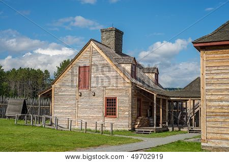 Kitchen Building, Grand Portage National Monument