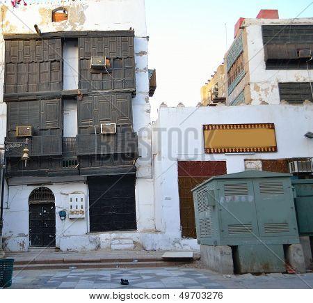 Old shops in old Jeddah