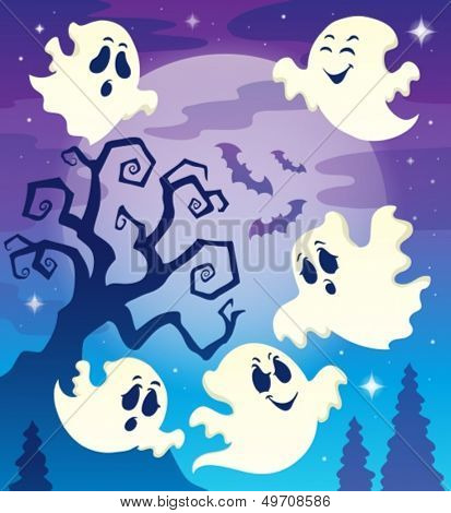 Halloween theme image 6 - eps10 vector illustration.