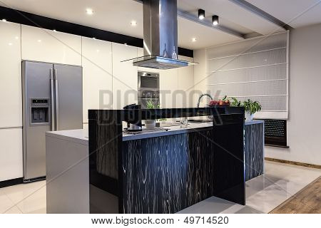 Urban Apartment - Contemporary Kitchen