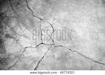 Grunge Concrete Cement Wall poster
