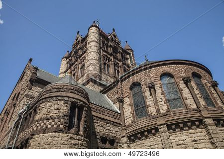 Trinity Church in Boston