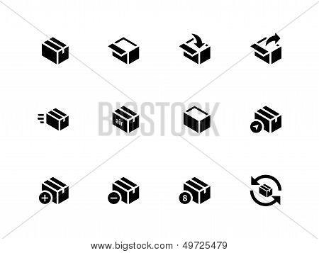 Box Icons on white background.