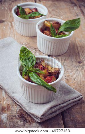 Vegan Food: Roasted Vegetables
