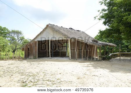 Old Shed In The Dominican Republic