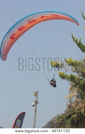 Paragliding at 0ludeniz, Turkey