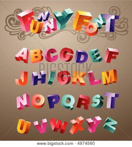 Funny Font