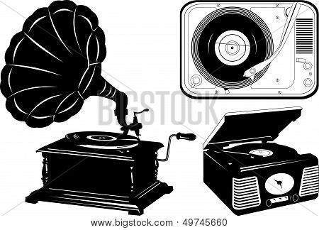 Retro Turntable