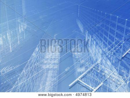 architektonische plan