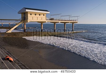 Aerarium On The Black Sea Coast. Sochi, Adler, Russia