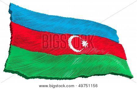 Flag - Azerbaijan