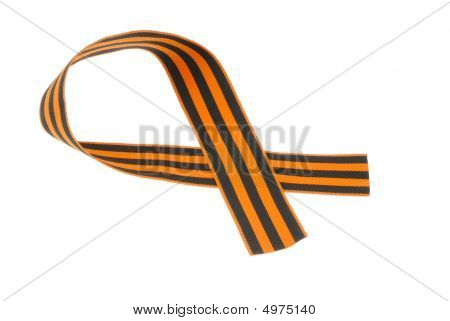 Guards Ribbon On White