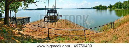 Rozmberk Pond