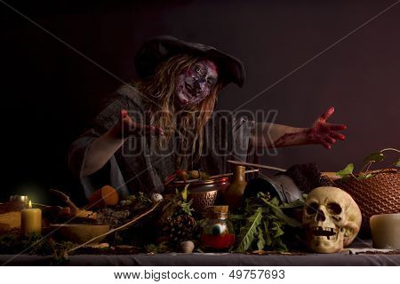 Witch Shows Her Witch's Kitchen