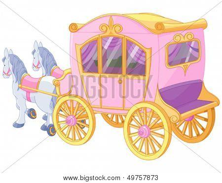 The carriage for true princess