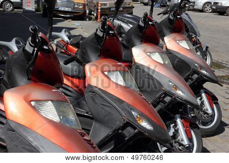 Scooters and mopeds