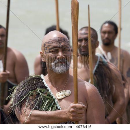 Guerrero maorí