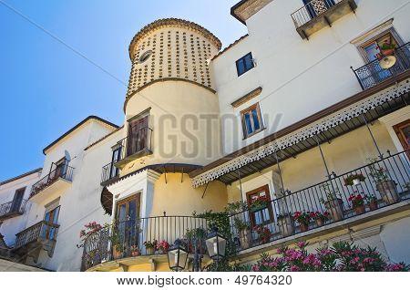 Marquis palace. Roseto Valfortore. Puglia. Italy.