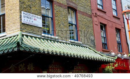Chinatown. London. United Kingdom