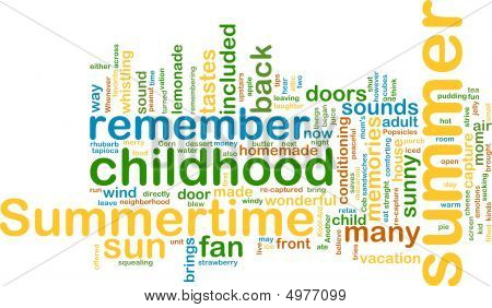 Summer Wordcloud