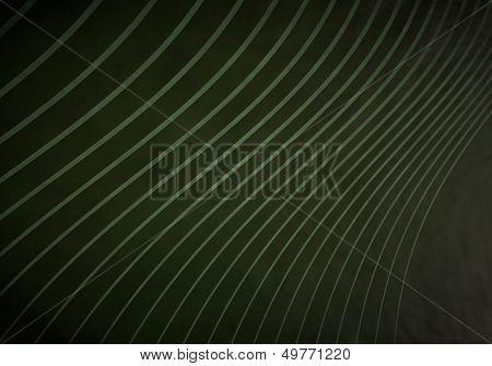 Illustration Of A Stylish Waved Background  With Vintage Waves