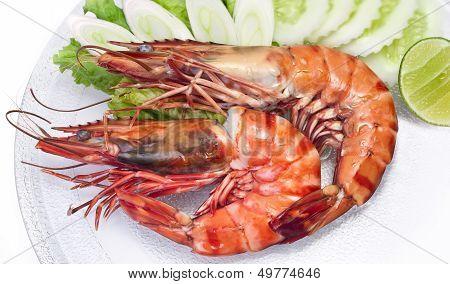 Tiger Shrimp Salted Roast