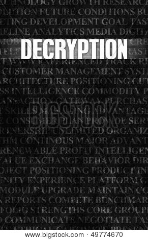 Decryption in Business as Motivation in Stone Wall