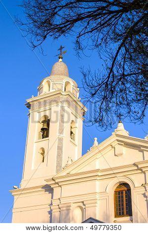 White Church Spire