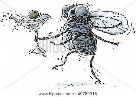Tipsy Housefly