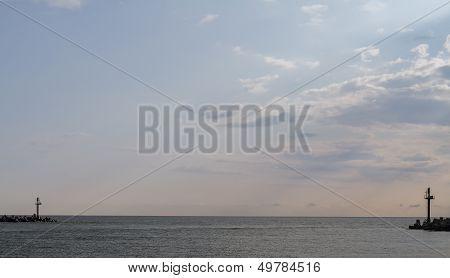 Entrance To The Curonian Lagoon, Klaipeda, Lithuania