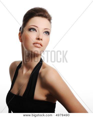Pretty Caucasian Woman