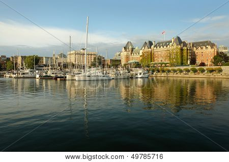 Inner Harbor Afternoon, Victoria, BC