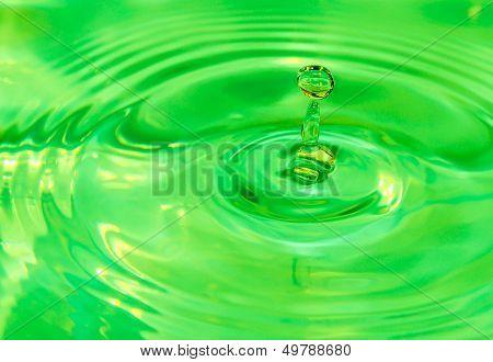 Emerald Water Art