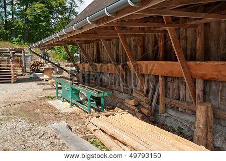 Small Sawmill Lumber Mill