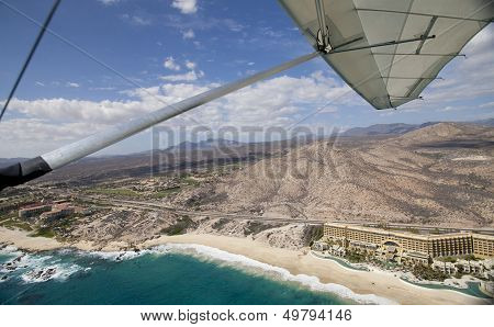 Shot From The Air In Los Cabos