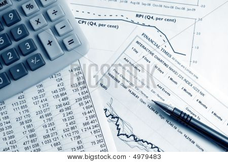 Stock Market Graphs Analysis.