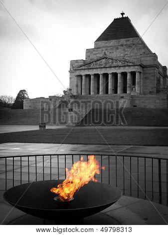 War memorial in Melbourne