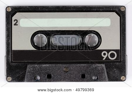 an old audio cassette