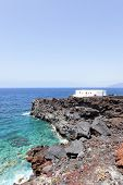 House at world's end, El Hierro, Canary Islands