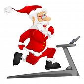 picture of heavy bag  - Santa Claus - JPG