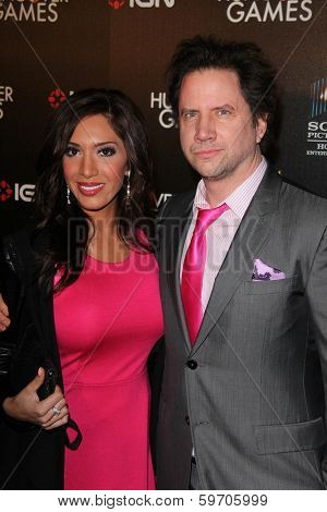 LOS ANGELES - FEB 11:  Farrah Abraham, Jamie Kennedy at the