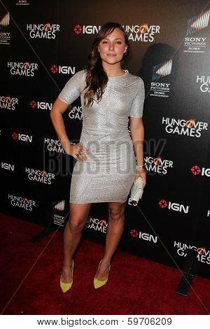 LOS ANGELES - FEB 11:  Briana Evigan at the