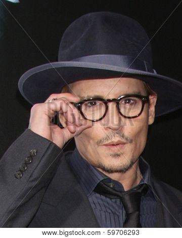 LOS ANGELES - FEB 12:  Johnny Depp at the