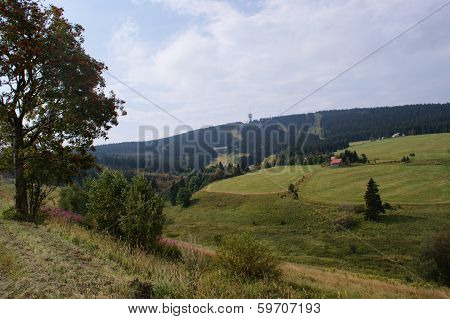 Klinovec in the Bohemian Erzgebirge